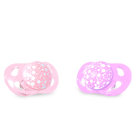Immagine di Twistshake® Set due ciucci Pastello Pink&Purple