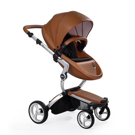 Slika Mima® Otroški voziček s košaro 2v1 Xari Camel
