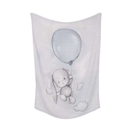 Slika Effiki® Tanka Bambusova Odejica Balloon 70x100