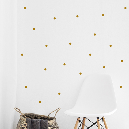 Picture of Pick Art Design® Wall Sticker Golden Circles
