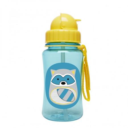 Slika Skip Hop® Steklenička s slamico Rakun