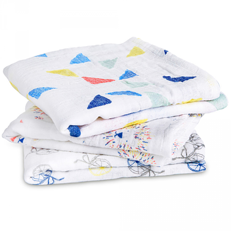 Picture of Aden+Anais Muslin Squares 3-Pack - Leader Of The Pack