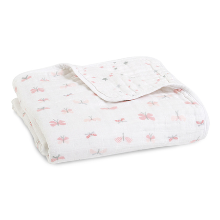 Picture of Aden+Anais Classic Dream Blanket - Lovely Reverie Butterflies