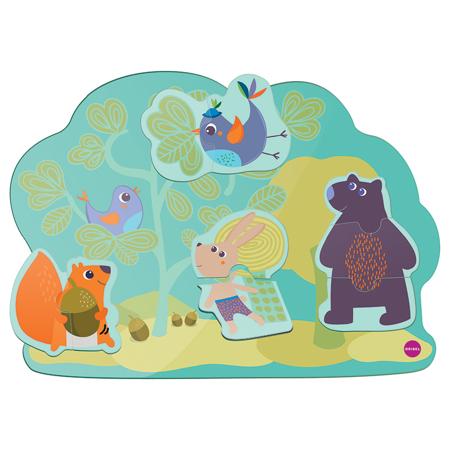 Slika Oribel® Vertiplay Poskočni zajček in prijatelji