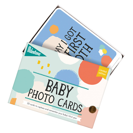 Picture of Milestone Baby Cards - Baby's First Year- Cotton Candy