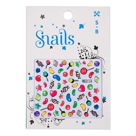 Slika Snails® Nalepke za nohte Candy Blast