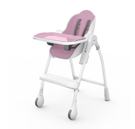 Picture of Oribel® Cacoon High Chair - Pastel Pink