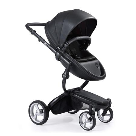 Slika Mima® Otroški voziček s košaro 2v1  Xari Black