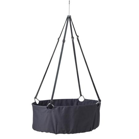 Slika Leander® Otroška viseča zibelka (brez stojala) Grey