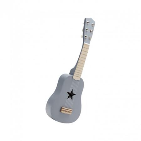 Slika Kids Concept® Lesena kitara Grey