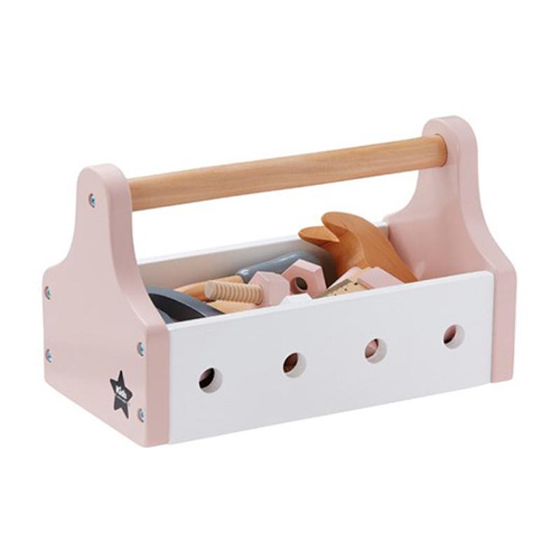 Kids Concept® Škatlica z orodjem Star Pink