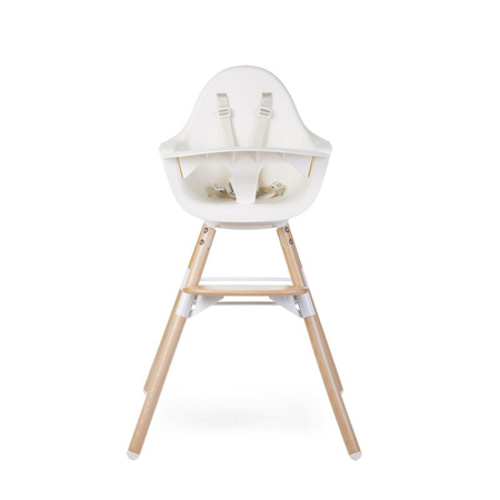 Slika Childhome® Otroški stol Evolu ONE.80° Natural - Bela