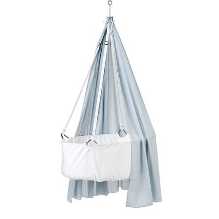 Slika Leander® Zastor za visečo zibelko - Svetlo Modra