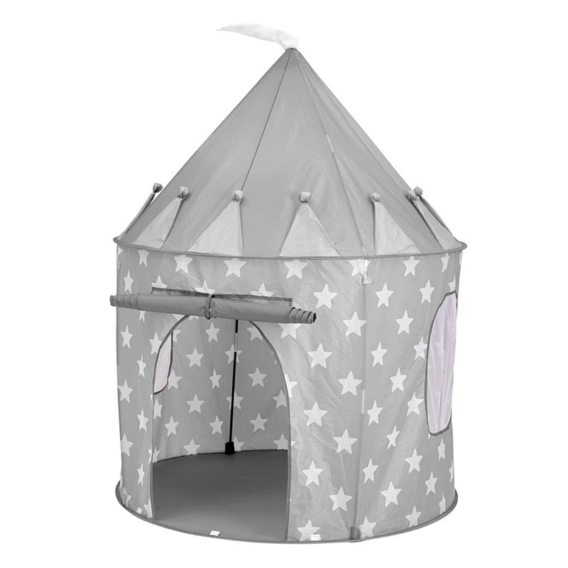 Kids Concept® Igralni šotor Star Grey