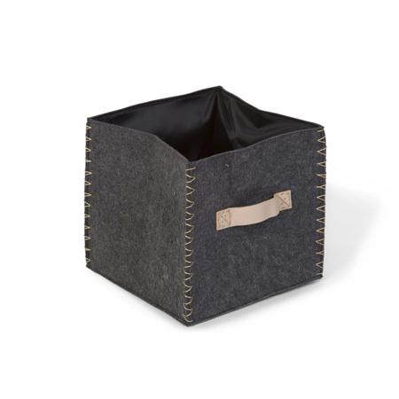 Slika Childhome® Košara za shranjevanje iz filca 28x28x27