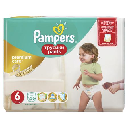Slika Pampers® Premium hlačne pleničke vel. 6 (15+ kg) 36 kosov