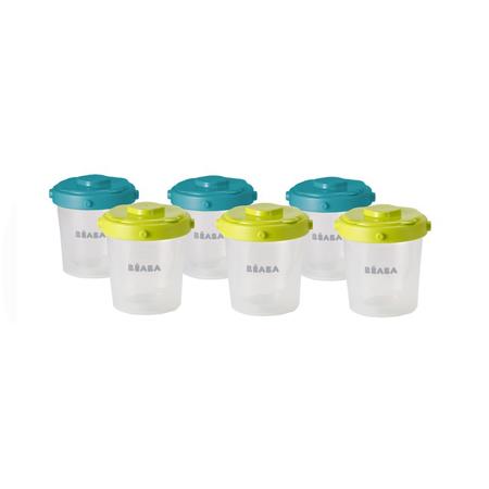 Slika Beaba® Set 6 posodic za shranjevanje hrane 6 x 200ml