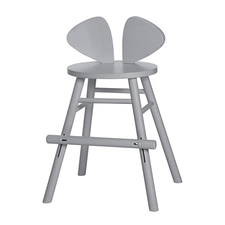 Slika NoFred® Visoki stolček Mouse Grey 3-9let