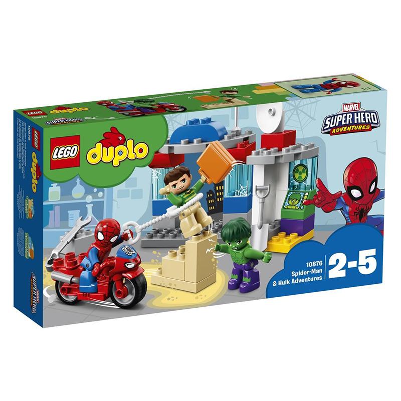 Lego® Duplo Dogodivščine Spidermana in Hulka