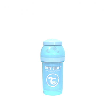 Picture of Twistshake Anti-Colic Bottle 180ml (0+M) - Pastel Blue