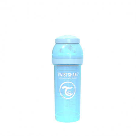 Picture of Twistshake Anti-Colic Bottle 260ml (2+M) - Pastel Blue