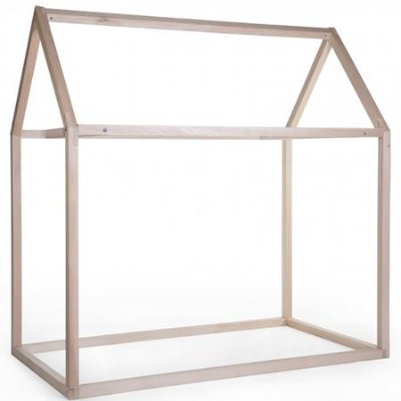 Slika Childhome® Posteljni okvir hiška 200x90
