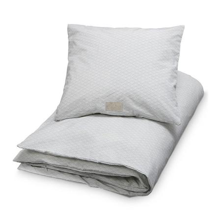 Slika CamCam® Otroška posteljnina Grey Wave 70x100 in 100x140 - Baby 70x100, 45x40