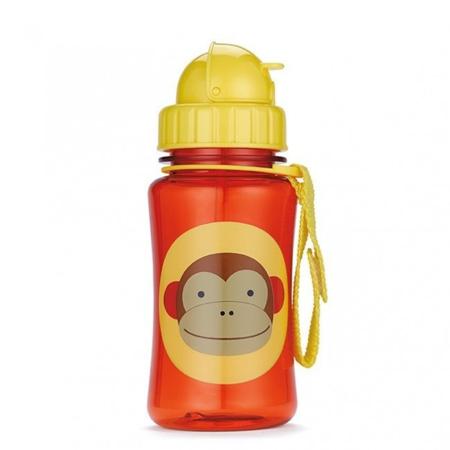 Slika Skip Hop® Steklenička s slamico Opica