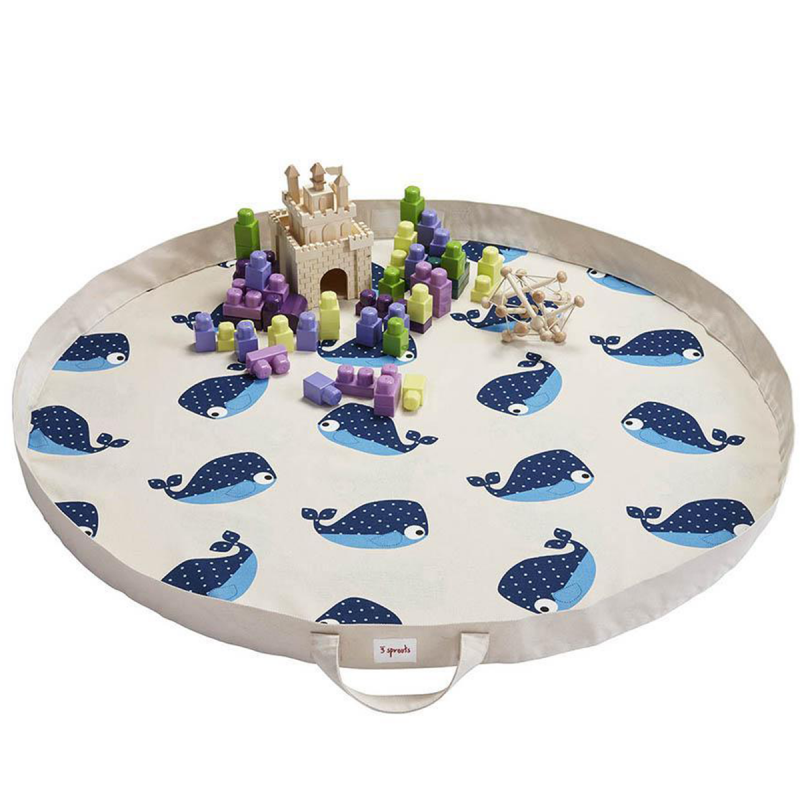 Picture of 3Sprouts® Play Mat Bag Whale