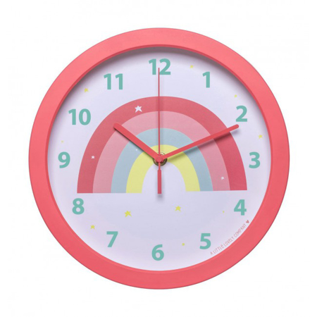 Picture of A Little Lovely Company® Clock Rainbow