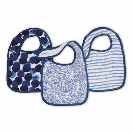 Picture of Aden+Anais Classic Snap Bib 3-Pack - Seafaring