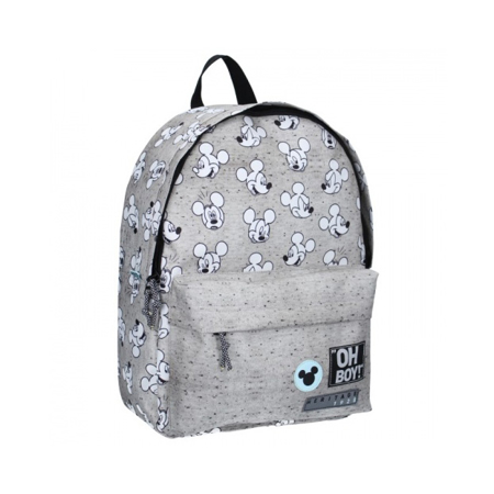 Picture of Disney's Fashion® Round Backpack Mickey Mouse Go For It! Grey