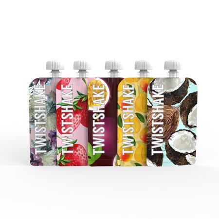 Slika Twistshake® Squeeze vrečke 5x100ml