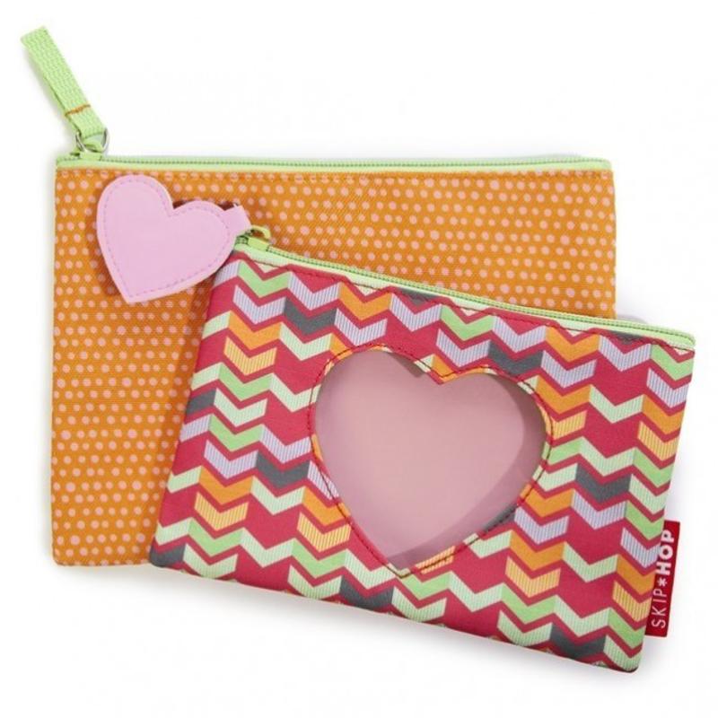 Skip Hop® Komplet dveh otroških torbic Srček