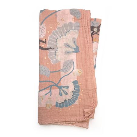 Slika Elodie Details® Muslin odejica Faded Rose Bells 80x80