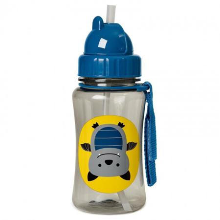 Slika Skip Hop® Steklenička s slamico Netopir
