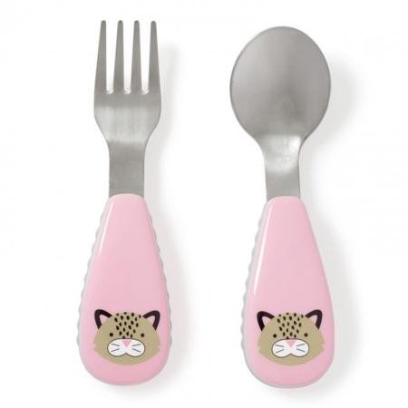 Slika Skip Hop® Otroški jedilni pribor Leopard