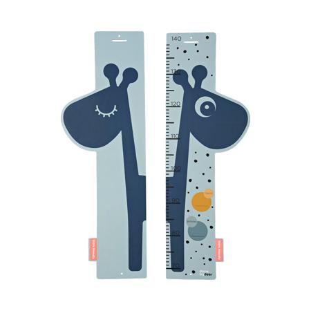 Slika Done by Deer® Otroški stenski meter Raffi Blue