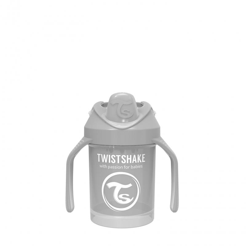 Twistshake® Lonček Mini Cup 230ml (4+m) - Pastel Grey
