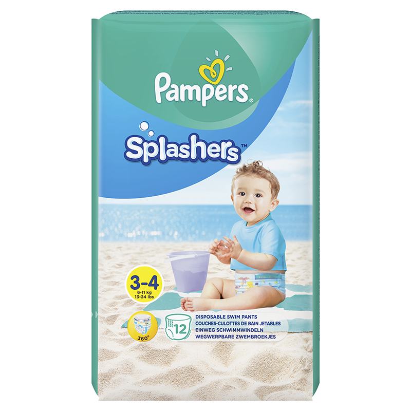 Picture of Pampers® Water Pants Diapers Size 3 12Pcs.