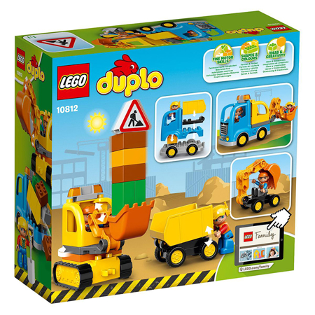 Slika Lego® Duplo Tovornjak in Bager
