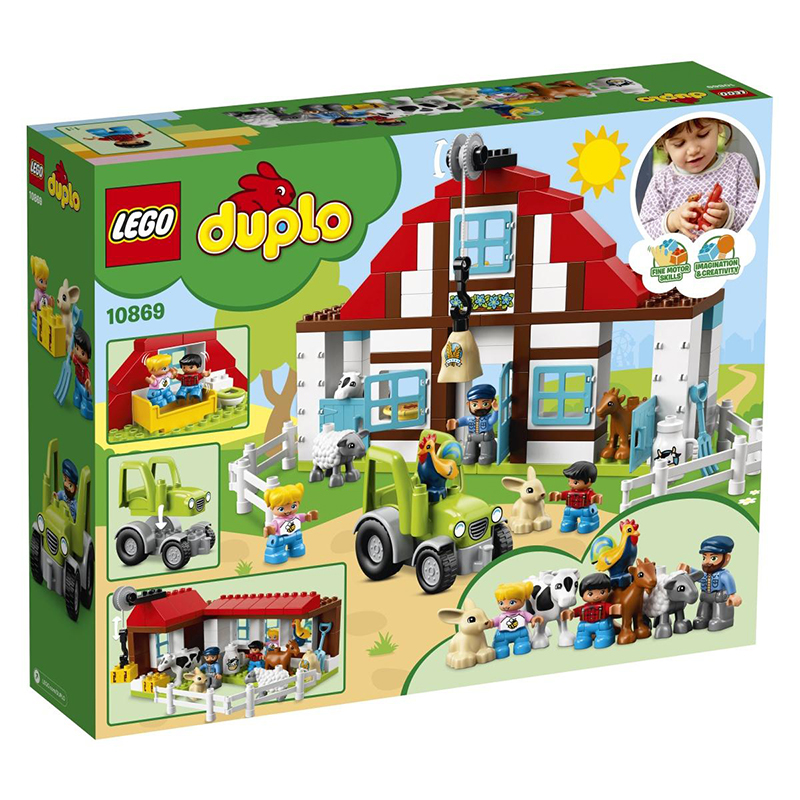 Lego® Duplo Dogodivščine na kmetiji
