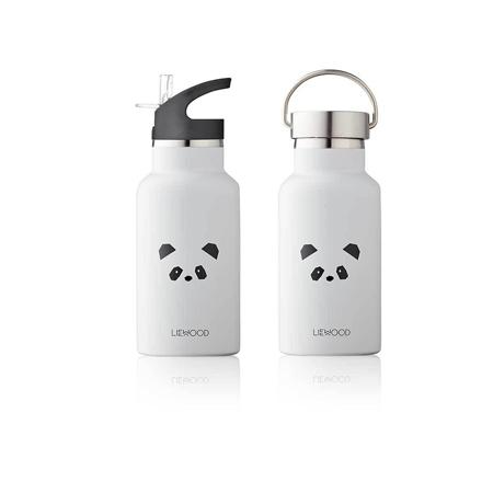 Slika Liewood® Steklenička iz nerjavečega jekla Panda Light Grey