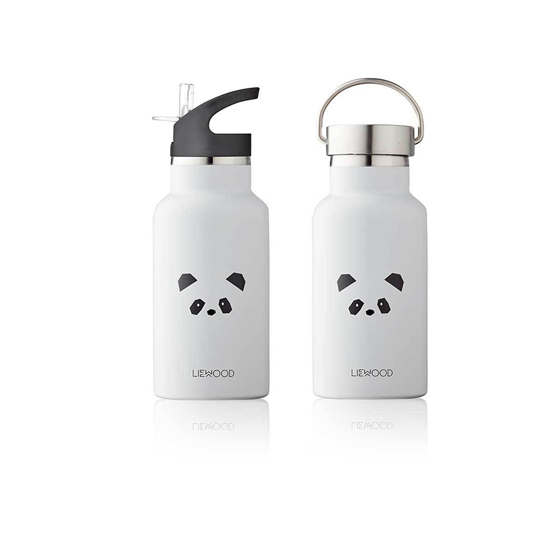 Picture of Liewood® Water Bottle - Panda Light Grey