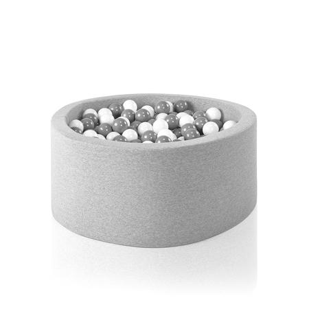 Slika Misioo® Bazen s kroglicami Light Grey Basic Smart