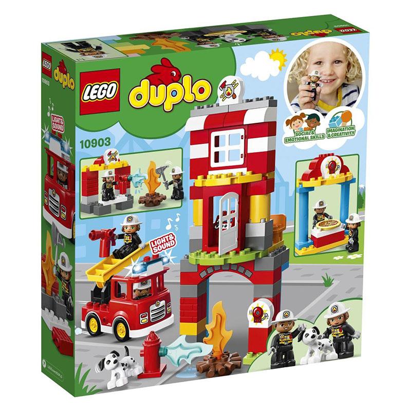 Lego® Duplo Gasilska postaja