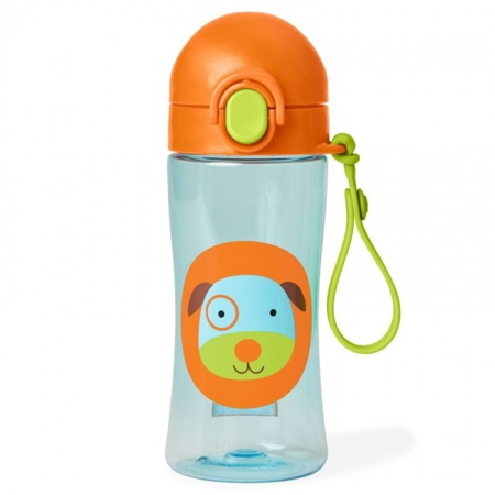 Picture of Skip Hop® Lock-Top Sports Bottle Puppy
