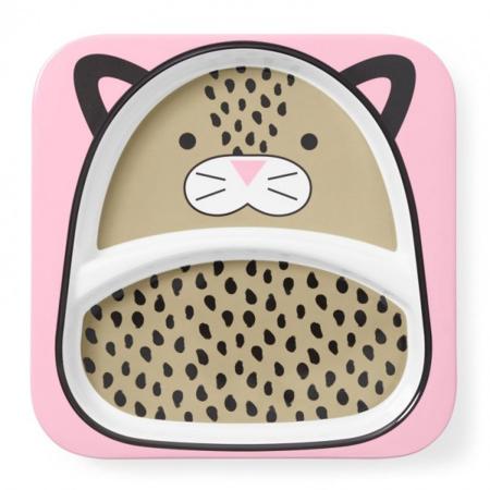 Slika Skip Hop® Otroški deljeni krožnik Leopard