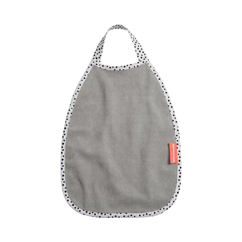Done by Deer® Pullover bombažni slinček Happy Dots Grey