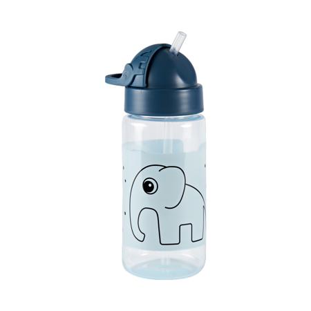 Slika Done by Deer® Steklenička s slamico Elphee Blue